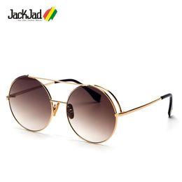 542c0cc6e4 green tint sunglasses Canada - JackJad Fashion Vintage Round Style Tint  Ocean Lens Sunglasses Cool Brand