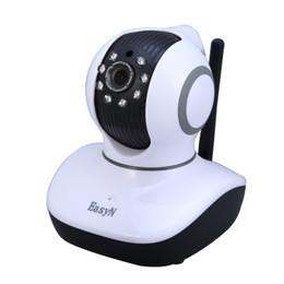 Canada EasyN Mini 10D 1.0MP H.264 CMOS Caméra IP sans fil IR-CUT avec vision nocturne Pan / Tilt US Plug - 100 - 240V supplier cut pans Offre