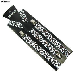 16442697f8edd Bretelles fines imprimées léopard pour femmes Bretelles fines ajustables  clip-on pour femmes Ceinture élastique BD853 bretelles imprimer sur la vente