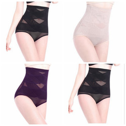 Wholesale Thin Breathable Panties - Hot sale pregnant maternity women recovery underwear Women high waist tummy control body shaper briefs slimming pants