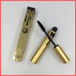 Wholesale Gold Color Charms - Factory Direct Free Shipping 2016 New High quality Gold Mascara Charming eyes Magic Thick Slim Waterproof Mascara Black color