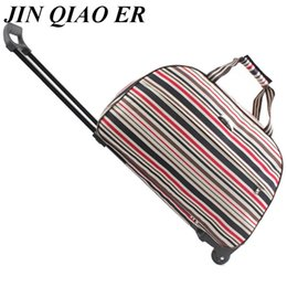 High Quality Rolling Luggage Women Travel Bags Metal Hand Trolley Female    Male Bag Large Package Travel Suitcase 8de2e5b97ceb2
