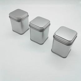 téléphones domestiques de luxe Promotion 50g Tin Metal Bans Stockage Bouteilles Bocaux Boîtes métalliques Tea Caddy Mini Candy petites boîtes scellées portable voyage boîte à thé F20173085