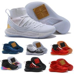 Wholesale sneakers holes - 5 Socks Basketball Shoes Sneaker Mens Gold Mid Top U Air 5s V Holes Hight Quality Youth Fashion Classic Trainer Tennis Shoe Cheap