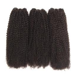 Grade 10a Inde Kinky cheveux bouclés Weave Bundles couleur naturelle 130 densité cheveux humains Bundles 8-30 pouces Remy extension de cheveux humains ? partir de fabricateur