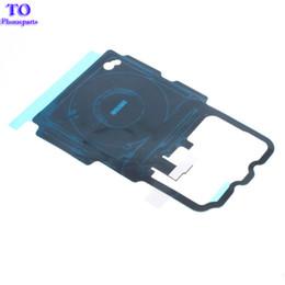 50 UNIDS Para Samsung Galaxy S8 Plus G950 G955 G955F NFC Carga inalámbrica Panel de Carga Bobina Etiqueta Flex Cable Ribbon desde fabricantes