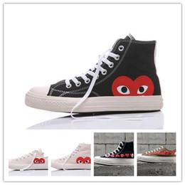 Wholesale big prints canvas - Original box For Men Women Running Sneakers Low High Top Skate Big Eye shoes Fashion Casual shoes size36-44