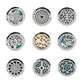 Wholesale car air freshener auto - Car Stying Car Outlet Perfume Clips Vent Air Freshener Purifier Perfume Essential Oil Diffuser Stainless Steel Auto Interior