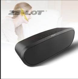 ZEALOT Sem Fio Bluetooth4.0 Speaker S9 portátil Altavoces Altoparlante TF Cartão Boombox Baixo HD de Som Estéreo 2400 mAh Cabo De Áudio Da Bateria de