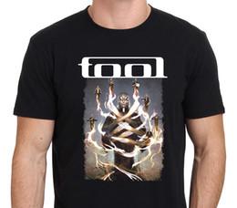 Concert t shirts xl en Ligne-T-shirt Citations Hommes Mode 2018 O-Neck Print Hommes T Shirt Outil Concert World Band Manches courtes T-shirts