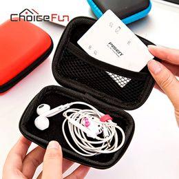 Wholesale Choice Travels - CHOICE FUN Mini Small Pocket Portable Travel Wire Usb Flash Cable Storage Bag Gadgets Headset Headphone Earphone Storage Bag
