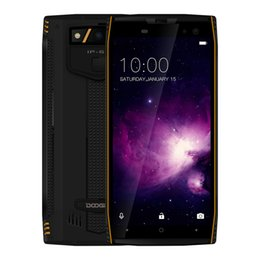 Wholesale dual sim android ip68 - Wholesale Doogee S50 IP68 Waterproof 4G Rugged Smartphone 5.7 Inch 18:9 Android 7.1 Octa Core 6GB+128GB 16mp 5180mAh Battery Fingerprint