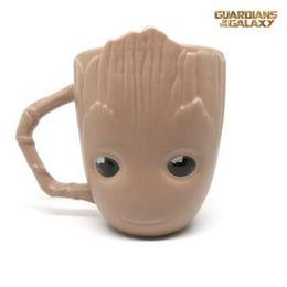 Wholesale Guardian Kids - Creative Groot Tree Man Mug Guardians of the Galaxy Ceramic Mug Kids Gifts Groot Porcelain Mug CCA8828 48pcs
