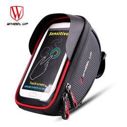 Wholesale touchscreen frame - Wheel Up Waterproof Bike Bicycle Bag 6.0