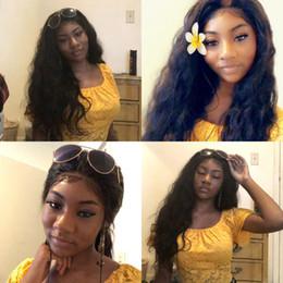 Siyah Kadınlar Için saç Peruk Bouncy Vücut Dalga Büyüleyici Dalgalı Dantel Peruk Perulu Bakire İnsan Saç Bella Saç Ücretsiz Kargo nereden