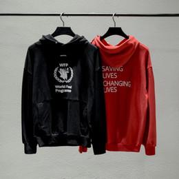 18FW Invierno Europa Francia París Moda Programa de alimentos de lujo Sudadera Casual Mujer Hombre Sudaderas con capucha Streetwear Top Design desde fabricantes