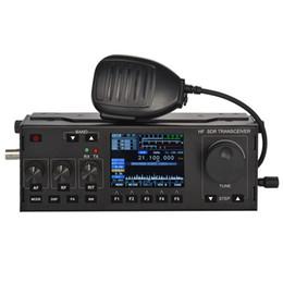 RS-918 10WAHF SDR Transceptor RX: 1.8-30MHz TX: Todas as FAIXAS HAM HF, SSB (J3E), CW, AM (Somente RX) ,, FM, FREE-DV cheap hf ham radios de Fornecedores de rádios de fiambre hf