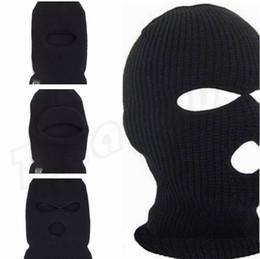 специальная маска Скидка Велоспорт крышка с отверстиями, 3 отверстия, одно отверстие акриловые волокна двойной слой специальная шляпа, мужской зимняя шапка, лицо крышка paryt маска C0187