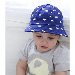 842ce17a1d5 Bnaturalwell Baby Boy Bucket Hat Toddler Girls Sun Hat With Brim Kids  Cotton Summer Child beach Summer Sun Panama H819