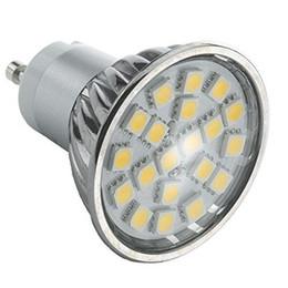 Ángulo de iluminación mr16 online-4W GU10 MR16 bombilla LED Spot SMD5050 20pcs LED blanco frío o blanco cálido ACAC85-265V ángulo de 120 grados