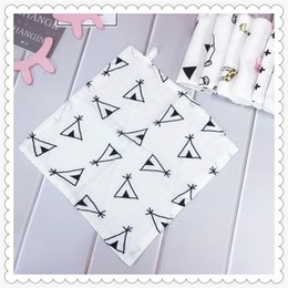baby kerchief Promo Codes - Lautata Ins 6layers Muslin Bamboo Coon Baby Newborn Infant Hand Towel 30*30cm Kerchief Sweat Towel Saliva