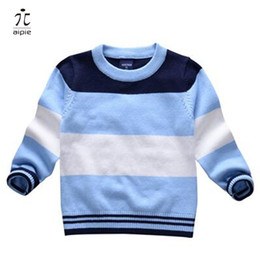 Wholesale Wholesale Prices For Clothing - aipie 1pcs Children Boy's Girls Spring Autumn Cotton Sweaters Good Price and Quality For 1-6 years kids wear Clothing