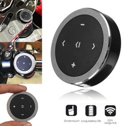 Беспроводная связь Bluetooth 3.0 медиа кнопка автомобиля мотоцикл рулевое колесо музыка играть пульт дистанционного управления для iOS / Android от