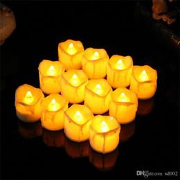2019 candela elettronica principale di plastica Creative LED Light Up Candela di sicurezza elettronica in plastica Candela che si illumina al buio Bougie For Birthday Partydecoration 1 7rx BB sconti candela elettronica principale di plastica