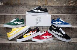 Wholesale Pop Shoes - Yezee Calabasas Stylist Ian Connors Revenge X Storm Old Skool Sneakers kanye west Pop-up Store Casual Shoe Men Women Canvas Shoes EUR36-45
