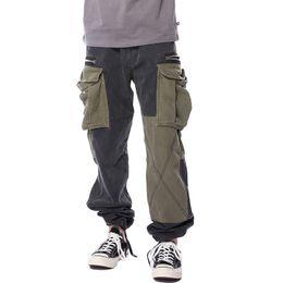 Argentina 18SS Soldado de lujo Pantalones Pantalones de chándal Moda Vintage Street Casual Pantalones sueltos Pantalones Hombres Mujeres Uniforme militar Army HFYMKZ067 Suministro