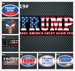 статические настенные наклейки Скидка Президентские выборы в США Trump 2020 автомобильные наклейки с надписью Donald Trump President Stickers G380
