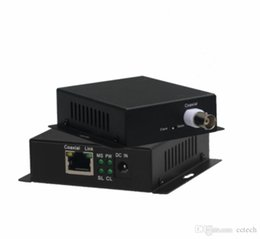 Canada Transmetteur IP réel / coaxial IP 2000m 10 / 100M 1 Extension BNC vers port RJ45 Extension CCTV HD Vidéo IP Ethernet Extension Ethernet sur câble coaxial Offre