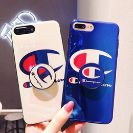 Canada Cas de téléphone de marque de mode en gros Kickstand pour Iphone X / XS XR XSMAX 8plus 7plus 8 7 6 / 6sP 6 / 6s avec lettre de marque de mode imprimée Offre