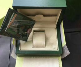 2019 зеленые сумочки для продажи Завод продажа AAA качество 185 мм * 134 мм*84 мм зеленый бренд часы оригинальный футляр бумаги карты кошелек подарочные коробки сумка 116610 116660 116710 часы коробка дешево зеленые сумочки для продажи