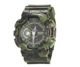 2019 relojes baratos SANDA unisex pareja reloj camuflaje doble pantalla fría luz electrónica deporte impermeable hombres mujeres reloj led reloj digital a80 relojes baratos baratos