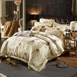 bedding coverlet sets Promo Codes - Bedspread Pillow Cases Queen King Size Coverlet Set European Flower Bed Cover 3pcs High Quality