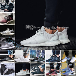 Wholesale Womens Leather Lace Up Boots - Ultra Boots 2.0 3.0 4.0 UltraBoots men running shoes sneakers womens outdoor Sports UB CNY Dog Snowflake Core Triple Black All White Grey
