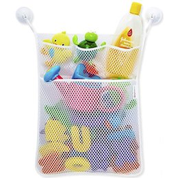 Wholesale baby mesh bag - Baby Bath Time Toy Tidy Storage Hanging Bag Mesh Bag Mesh Bathroom Organiser Net Baby Bath Time Toy Tidy Storage Hanging