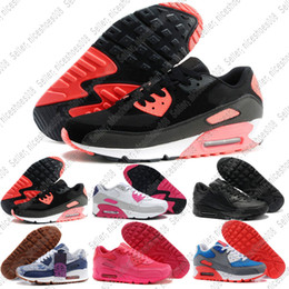 watch 54e44 13e80 billige luftverschiffen Rabatt Nike air max airmax 90 Günstige Womans  Sneakers Schuhe Classic 90 Laufschuhe Großhandel