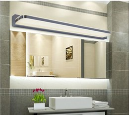 Wholesale Wall Mounted Light Mirror - 120CM led bathroom wall light lamps modern Wall mounted Bar decoration lights AC 110v 220v Bathroom Mirror Tops Light