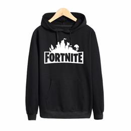 Wholesale Hoody Tops - Pkorli Hoodies Men Fortnite Youth Common Hoody Casual Long Sleeve Playstation Game Sweatshirt Male Pullover Tops