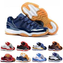 meet 2e118 f44e3 Sconto 2018 nuove scarpe da basket XI Elite da uomo LOW 11 Scarpe da  ginnastica di alta qualità in linea Original sport Scarpe da pesca rosse  Midnight Navy ...