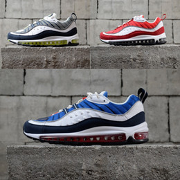 detailed look d5c2d 80747 Nike air max 98 OG Fashion Running Shoes 98 OG multi Scarpe casual per uomo  donna Verde Blu Grigio Rosso Top Quality 98s Sconto Sneakers Taglia 36-45