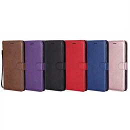Housse en cuir PU Portefeuille Pour Iphone XR XS MAX 8 7 6 6S SE 5 5S Galaxy Note 9 Note9 S9 S8 Téléphone Flip Cover Fente pour Carte d'identité TPU Book Pouch Strap ? partir de fabricateur