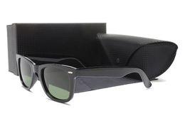 Wholesale frame glasses online - Free shipping sunglass styles 2018 mens ladies wayfarer oversized sunglasses 2140 new york famous brand designer sun glasses eyeglass online