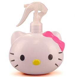 Wholesale hand sanitizer bottles wholesale - Cartoon 250ML Hello Kitty Hand Pressure Home Kitchen Bathrroom Water bottle Soap Lotion Dispenser Sanitizer