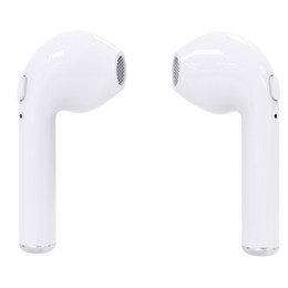 Wholesale charger retail packing - I7S TWS Bluetooth Headphone with Charger Box Twins Wireless Earbuds Earphones for iPhone X IOS iPhone Android Samsung with Retail Packing