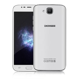 Wholesale Original Android Os - Original Doogee X9 Mini 5.0inch Mobile Phone 3G WCDMA Android 6.0 OS Real Fingerprint ID GPS Bluetooth WIFI Smartphone