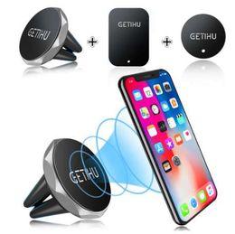 GETIHU Soporte para teléfono móvil Soporte magnético para ventilación Soporte móvil para teléfono inteligente Soporte para imán Teléfono celular Escritorio para teléfono en GPS para automóvil desde fabricantes