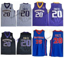 03c9162653e1 Mens Washington Huskies Markelle Fultz College Basketball Jerseys Cheap  Markelle Fultz 20 DeMatha Catholic High School Stitched Shirts